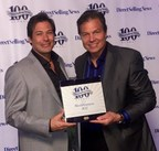WorldVentures Founder and Chief Visionary Officer and WorldVentures CEO Dan Stammen accept award for Direct Selling News Global 100 No. 32 ranking.