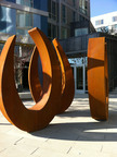 EXPO Apartments Unveils New Sculpture In Celebration Of Century 21 Exposition.  (PRNewsFoto/Essex Property Trust, Inc.)