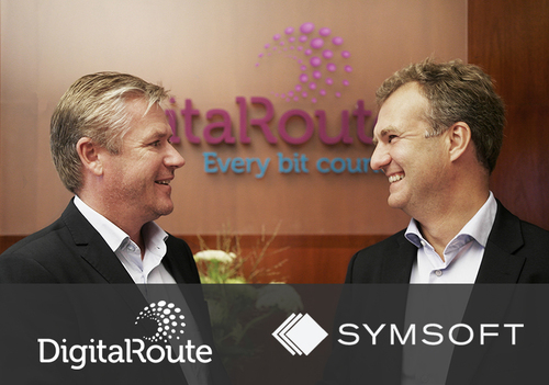 DigitalRoute and Symsoft (PRNewsFoto/DigitalRoute)