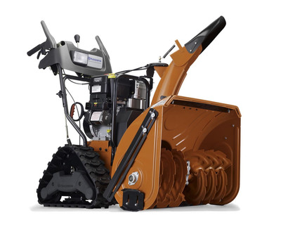 The new dual stage trac drive Husqvarna snow thrower. Tackle winter's toughest challenges this year!