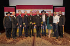 Country Music star Craig Morgan joins Kidde guest Kix Brooks and fire safety leaders to encourage and recognize fire service volunteers.(Photo credit: Ed Rode Photography)