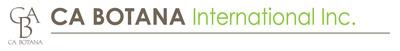CA BOTANA INTERNATIONAL INC. Logo.  (PRNewsFoto/CA BOTANA International, Inc.)