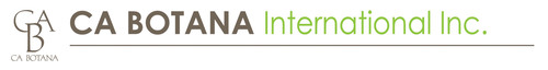 CA BOTANA INTERNATIONAL INC. Logo.  (PRNewsFoto/CA BOTANA International, Inc.)