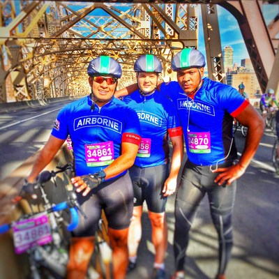 Through the Peer Support program offered by Wounded Warrior Project, Ron Hurtado (left) has rediscovered his sense of purpose and now leads his own triathlon team.