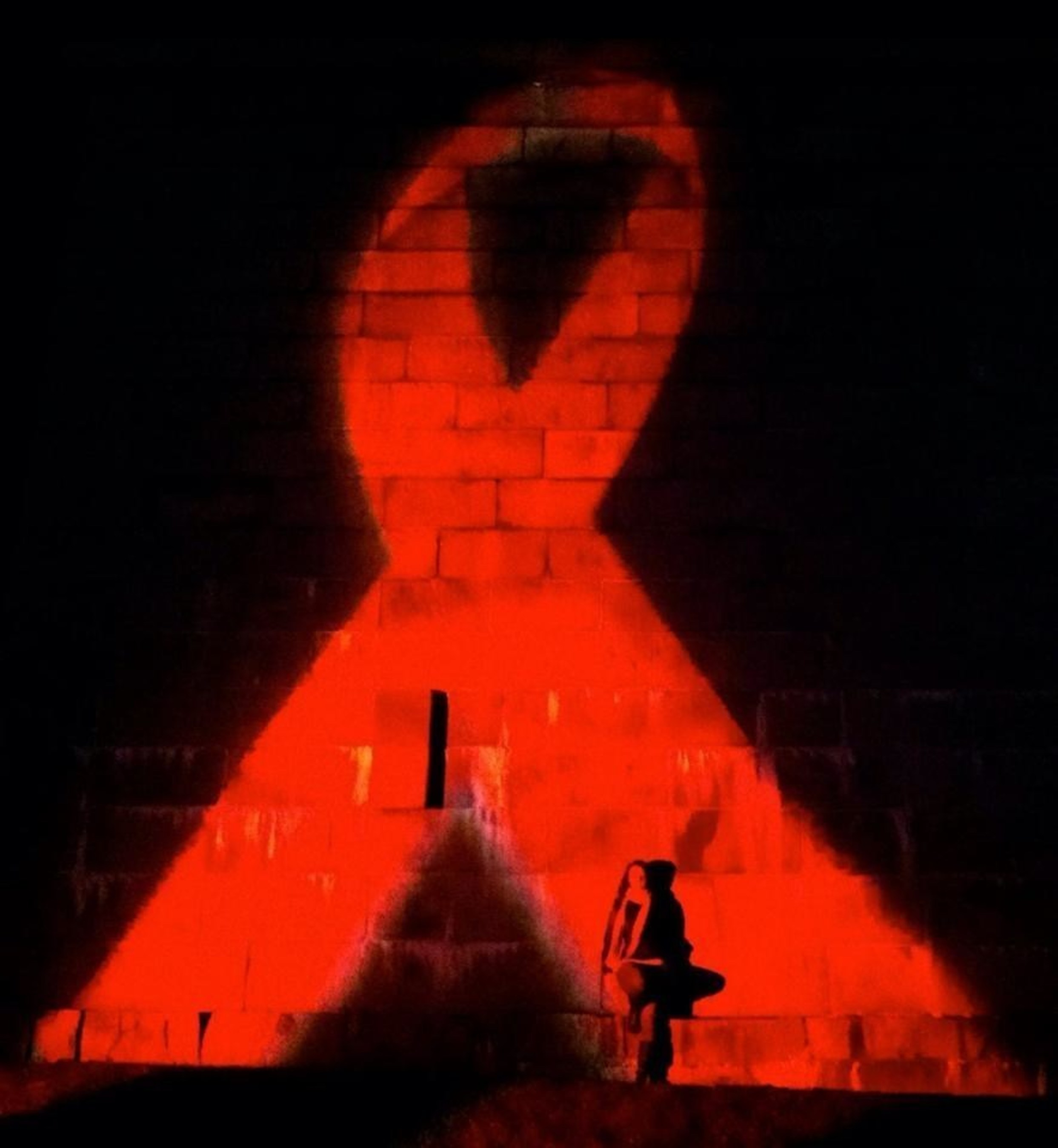 Medicine Wheel Vigil for World AIDS Day/A Day With(out) Art
