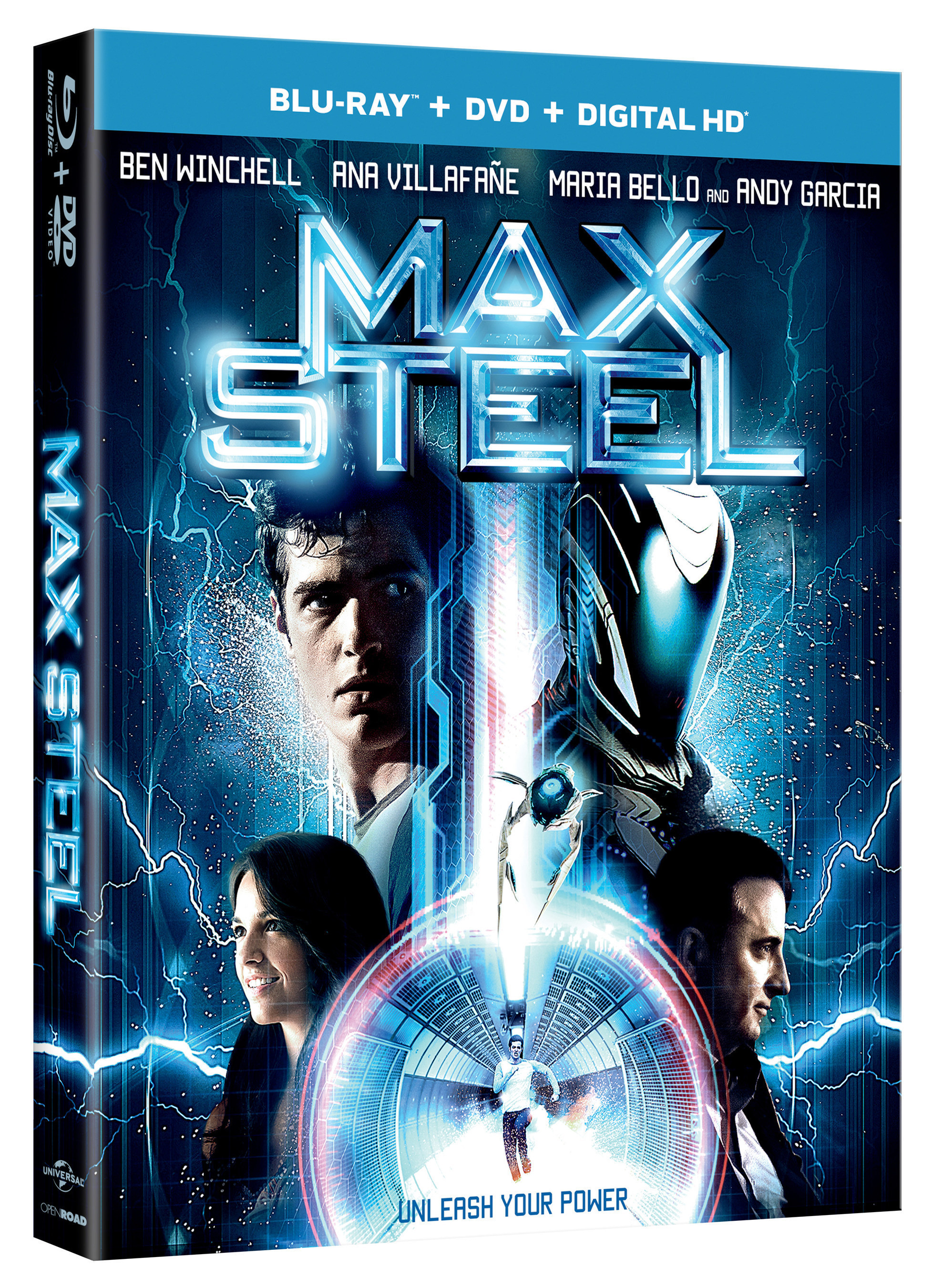 From Universal Pictures Home Entertainment: MAX STEEL