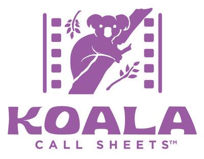 Koala Call Sheets (TM) Logo.  (PRNewsFoto/Jungle Software)