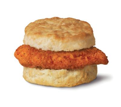 Chick-fil-A's Spicy Chicken Biscuit.  (PRNewsFoto/Chick-fil-A, Inc.)