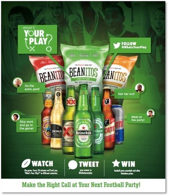 "Beanitos(R) Announces ""What's Your Play"" Game Day Sweepstakes"