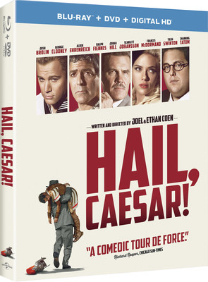 From Universal Pictures Home Entertainment: Hail, Caesar!