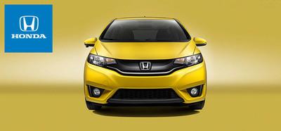 The 2015 Honda Fit brings upgrades to both the interior and exterior. (PRNewsFoto/Matt Castrucci Honda)