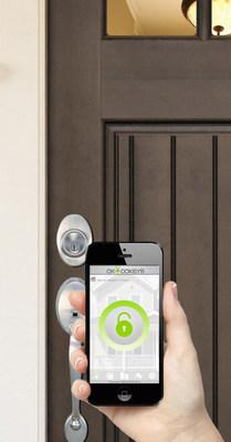 Okidokeys Bluetooth Smart Lock (PRNewsFoto/OKIDOKEYS)