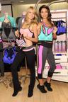 Victoria's Secret Angels Lily Aldridge and Lindsay Ellingson Celebrate The World's Best Sport Bras.  (PRNewsFoto/Victoria's Secret)