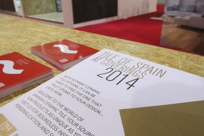 Tile of Spain exhibits distinctively unique ceramic innovations at Coverings 2014