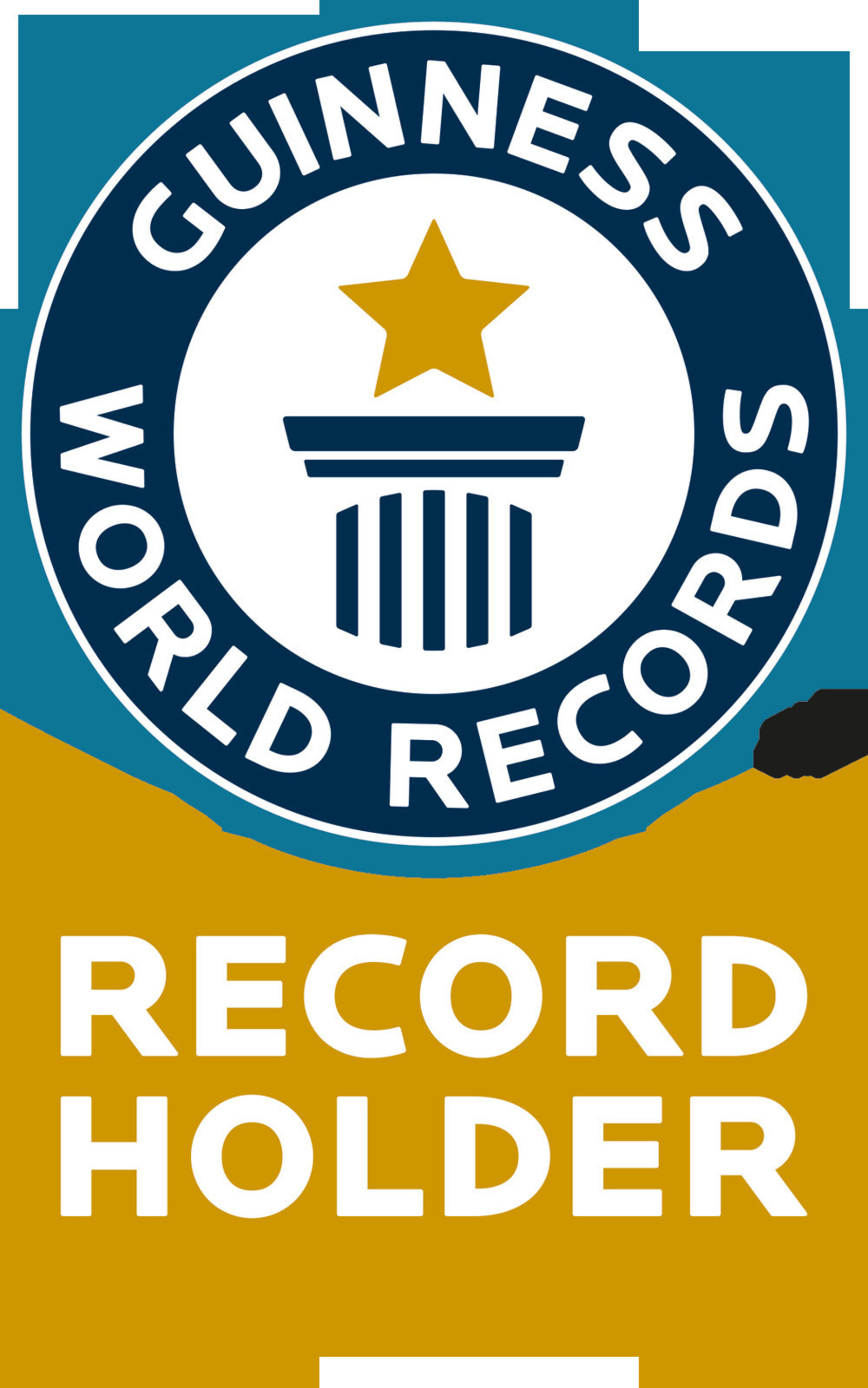 Guinness World Records Official Record Holder Logo