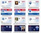 RE/MAX Business Card Templates.  (PRNewsFoto/Vizibility Inc.)