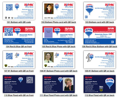 RE/MAX Regional Services Launches Printed Business Cards with Mobile Capabilities for 4,000 Brokers and Agents