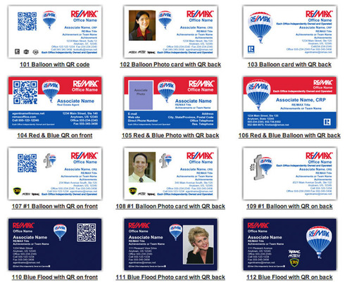 Remax regional services launches printed business cards with mobile remax regional services launches printed business cards with mobile capabilities for 4000 brokers and agents colourmoves