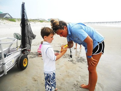 Recently, Nielsen-Kellerman (NK) donated Kestrel® Weather & Environmental Meters to Ecological Marine Adventures (EMA) in Surf City, NC. NK is the manufacturer of the Kestrel Weather & Environmental Meters.