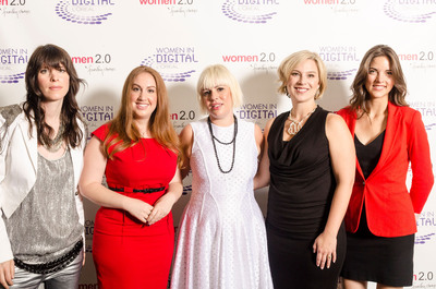 L'Oreal NEXT Generation Award Honorees & Rachel Weiss, VP Digital Strategy, L'Oreal USA