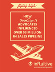 How DocuSign's advocates influenced over $3 million in sales pipeline using Influitive's AdvocateHub software (PRNewsFoto/Influitive)