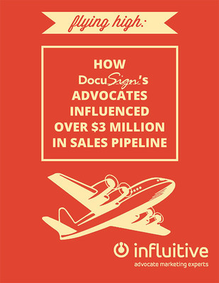 DocuSign Announces That Advocate Marketing Program Influenced Over $3M in Sales Pipeline