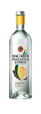 NEW! Pineapple Fusion(TM) RumPineapple Fused.  (PRNewsFoto/BACARDI)