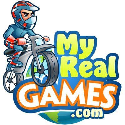 My Real Games logo