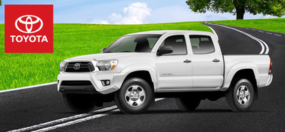 The 2014 Toyota Tacoma and 2014 Toyota Venza prove that a vehicle doesn't have to large to be an effective cargo hauler. (PRNewsFoto/Toyota of Naperville)