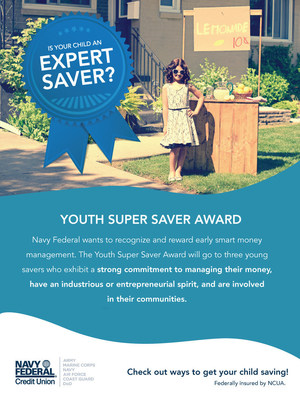 Navy Federal Youth Super Saver Award (PRNewsFoto/Navy Federal Credit Union)