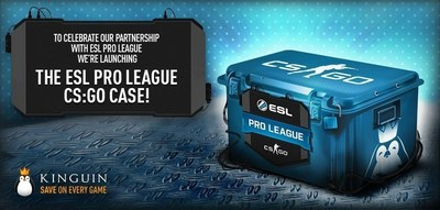 Kinguin.net has prepared a unique ESL Pro League CS:GO case to celebrate its sponsorship of ESL CS:GO Pro League!