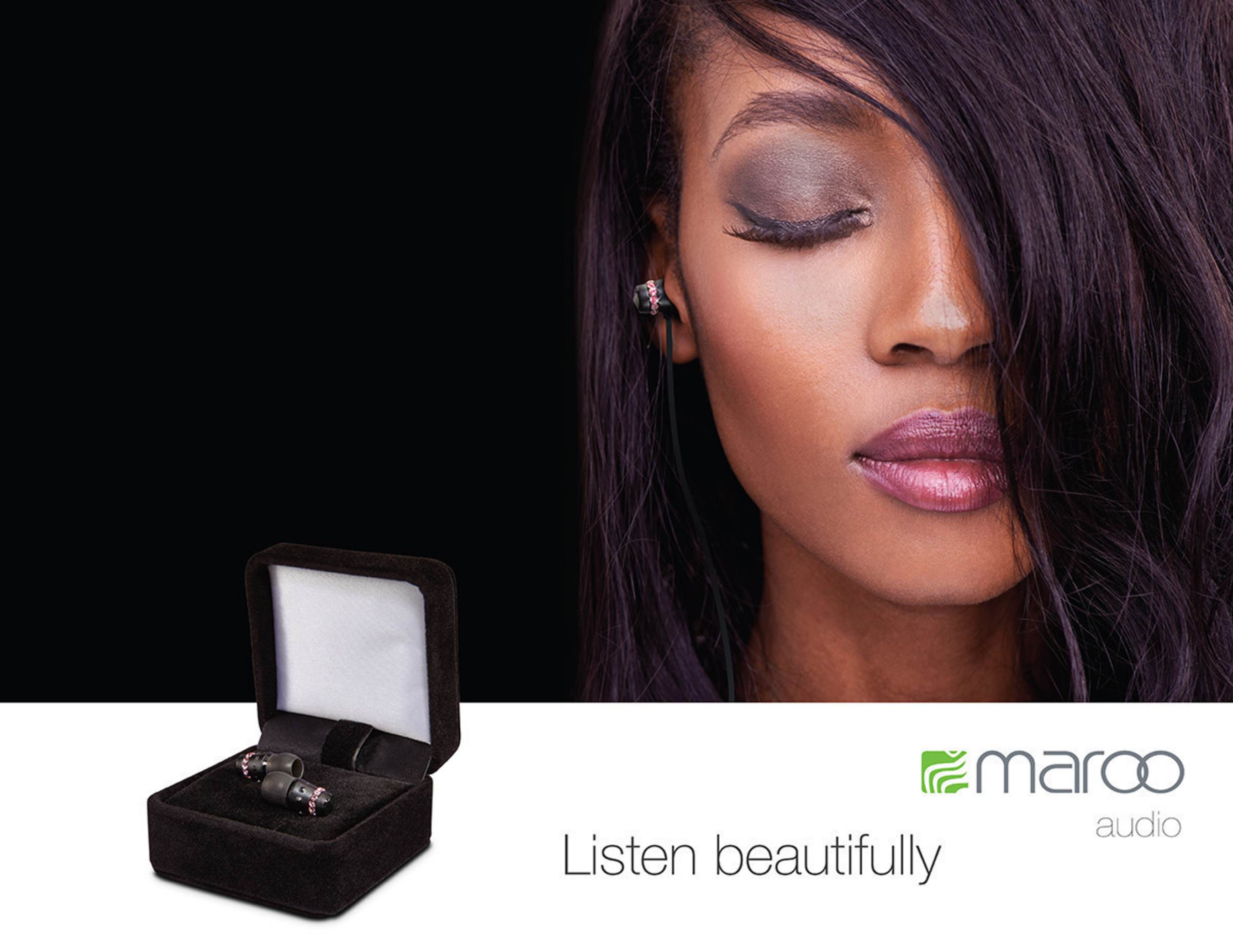 Maroo Audio ICE Collection - Because your music should be inspiring, personal, enjoyed...with earphones designed for a woman.