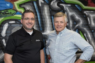 HireVue's Chief Customer Officer, Mark Newman with the newly appointed CEO Kevin Parker