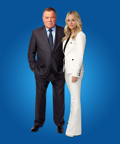 "Priceline.com Shocker: Kaley Cuoco is Revealed as Secret Daughter of William Shatner's ""The Negotiator""!  (PRNewsFoto/priceline.com)"