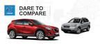 2015 Mazda CX-5 vs 2015 Subaru Forester (PRNewsFoto/Matt Castrucci Mazda)