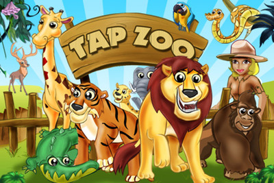Pocket Gem's Tap Zoo has millions of players and has been consistently ranked as one of the App Store's highest grossing apps since its launch in September 2010.  (PRNewsFoto/Pocket Gems)