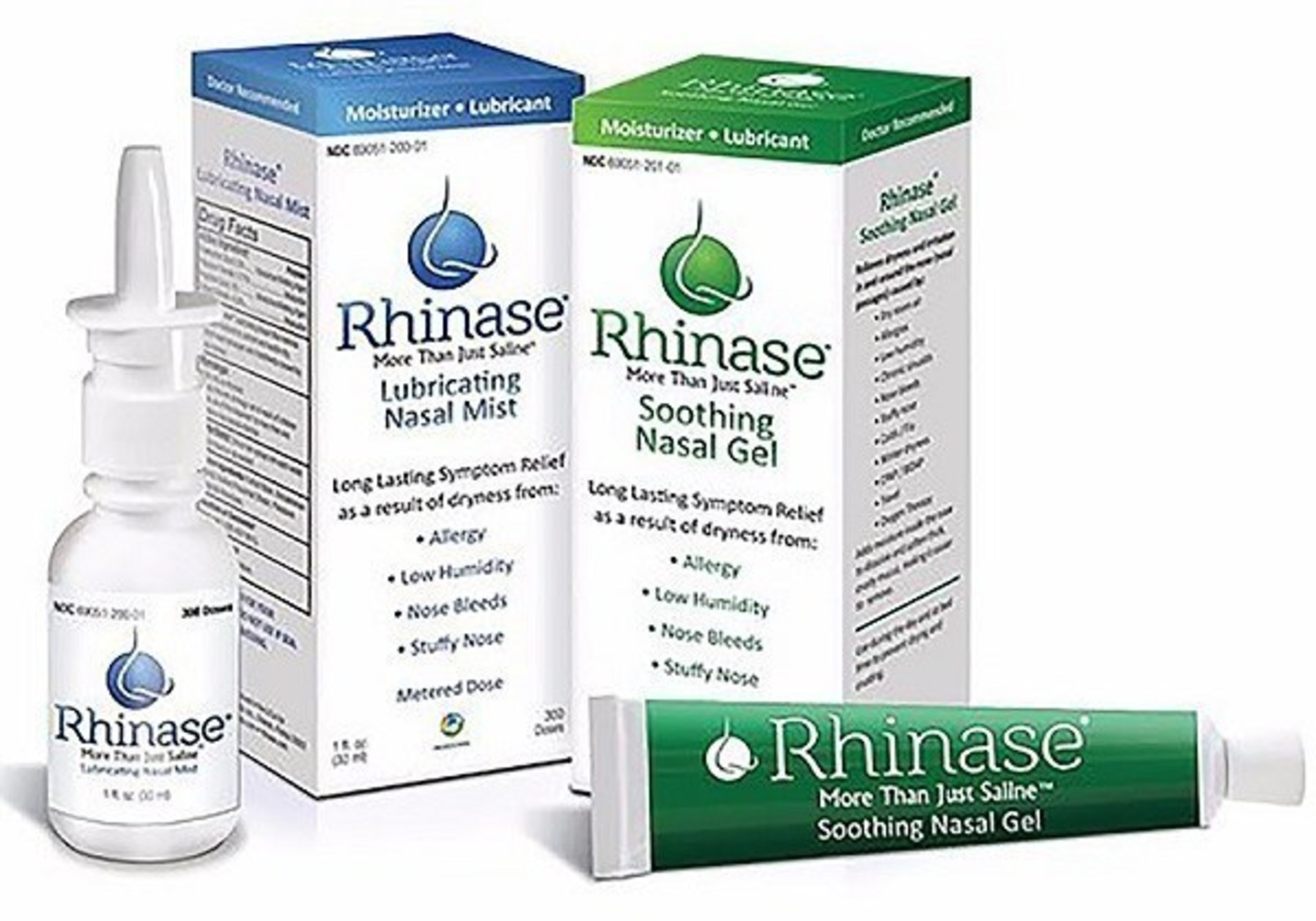 RHINASE NASAL MOISTURIZING PRODUCTS