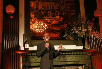 Investor, entrepreneur and manager Troy Carter accepts the 12th annual Hennessy V.S.O.P Privilège Award on October 8, 2015 at WeWork Bryant Park in New York City.  Hennessy recognized Mr. Carter for his efforts in redefining entrepreneurship before announcing the Hennessy V.S.O.P Privilège Lab, a partnership with WeWork that will provide an emerging business with a year's worth of mentorship, community and free office space. (Photo by Amy Sussman/Invision for Hennessy/AP Images)