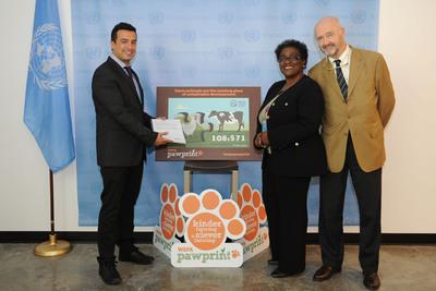 Plus de 100 000 personnes ont pris part à l'événement « Un avenir plus humain pour les animaux d'élevage » organisé par les Nations unies