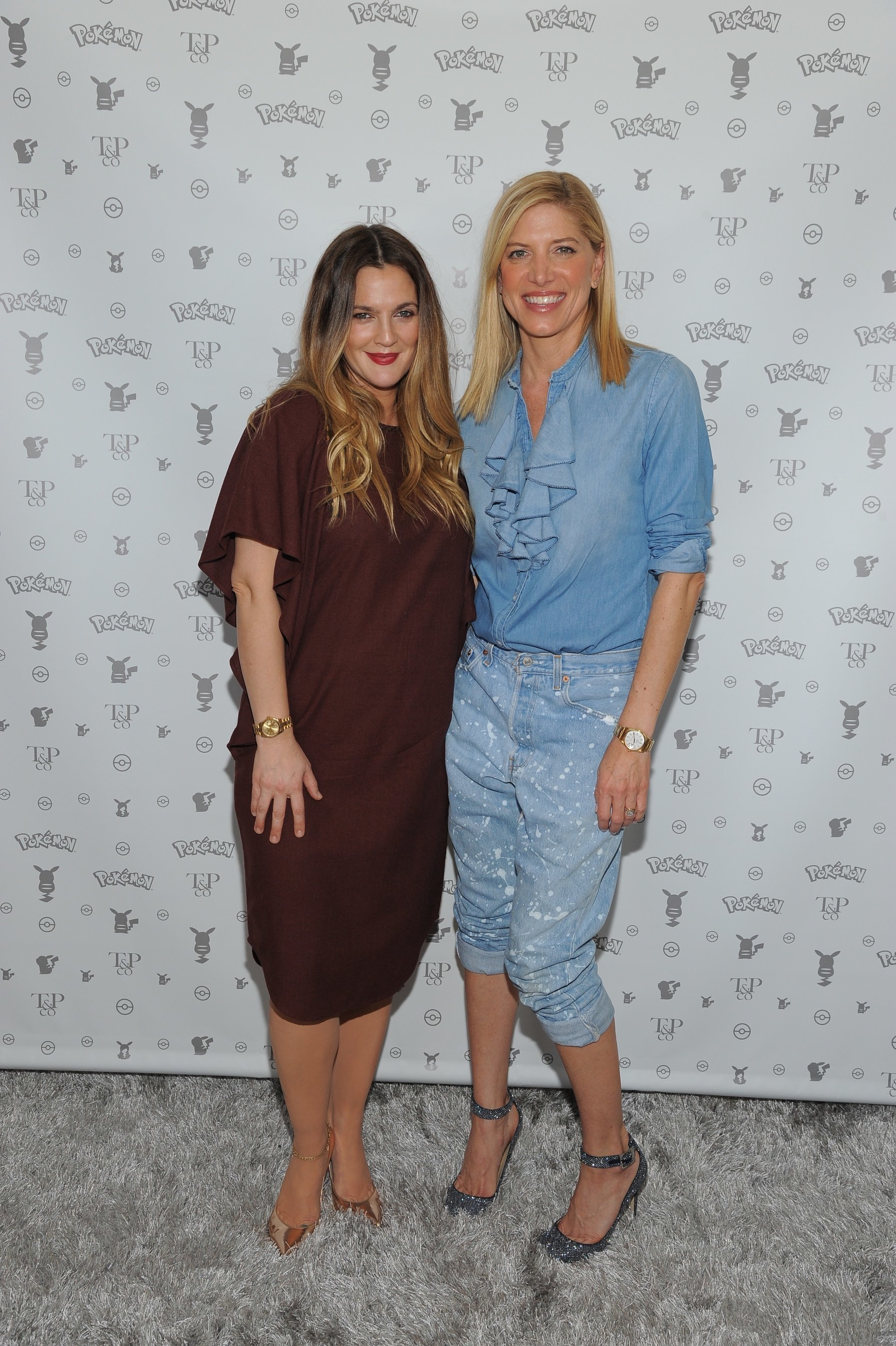 Drew Barrymore Celebrates Pok'mon Afternoon Soiree at Sunset Tower