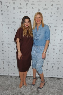 Drew Barrymore and Petra Flannery at Pokemon Afternoon Soiree