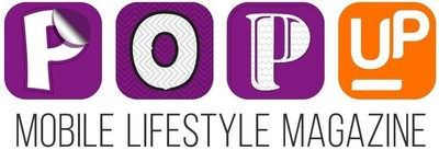 Pop Up Mobile Lifestyle Magazine Logo (PRNewsFoto/Yapital Financial AG)