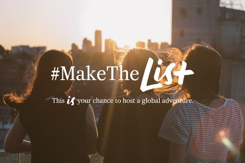 World Class is searching for the right person to take on the world's greatest opportunity: a global adventure to create the ultimate drinks list. Travel to five of the world's most vibrant cities, immerse yourself in local culture, and uncover the most delicious food and drink. Sound like your dream gig? Head to MakeItWorldClass.com to find out how to #MakeTheList (PRNewsFoto/WORLD CLASS)