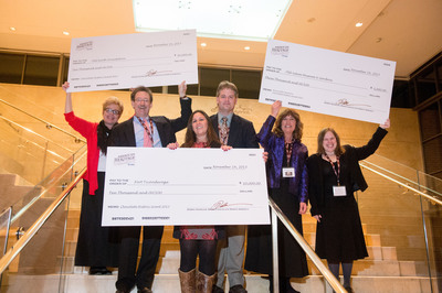 Mars, Incorporated Grant Winners (left to right): Pamela Bennett, Reverend Stephen Ayres, Beth Hill, Chris Fox, Darlee Snyder and Joanna Roberts.  (PRNewsFoto/Mars Chocolate North America)