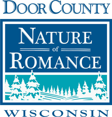 Door County Nature of Romance logo.  Photo credit: Door County Visitor Bureau.