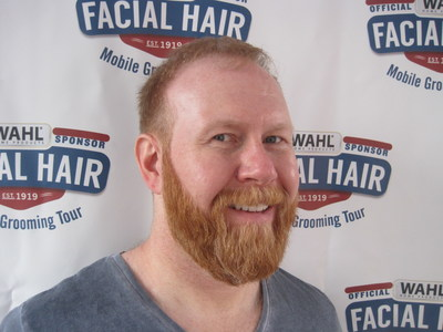 Steve Carpinelli from Washington D.C. has been named the new Wahl Man of the Year.