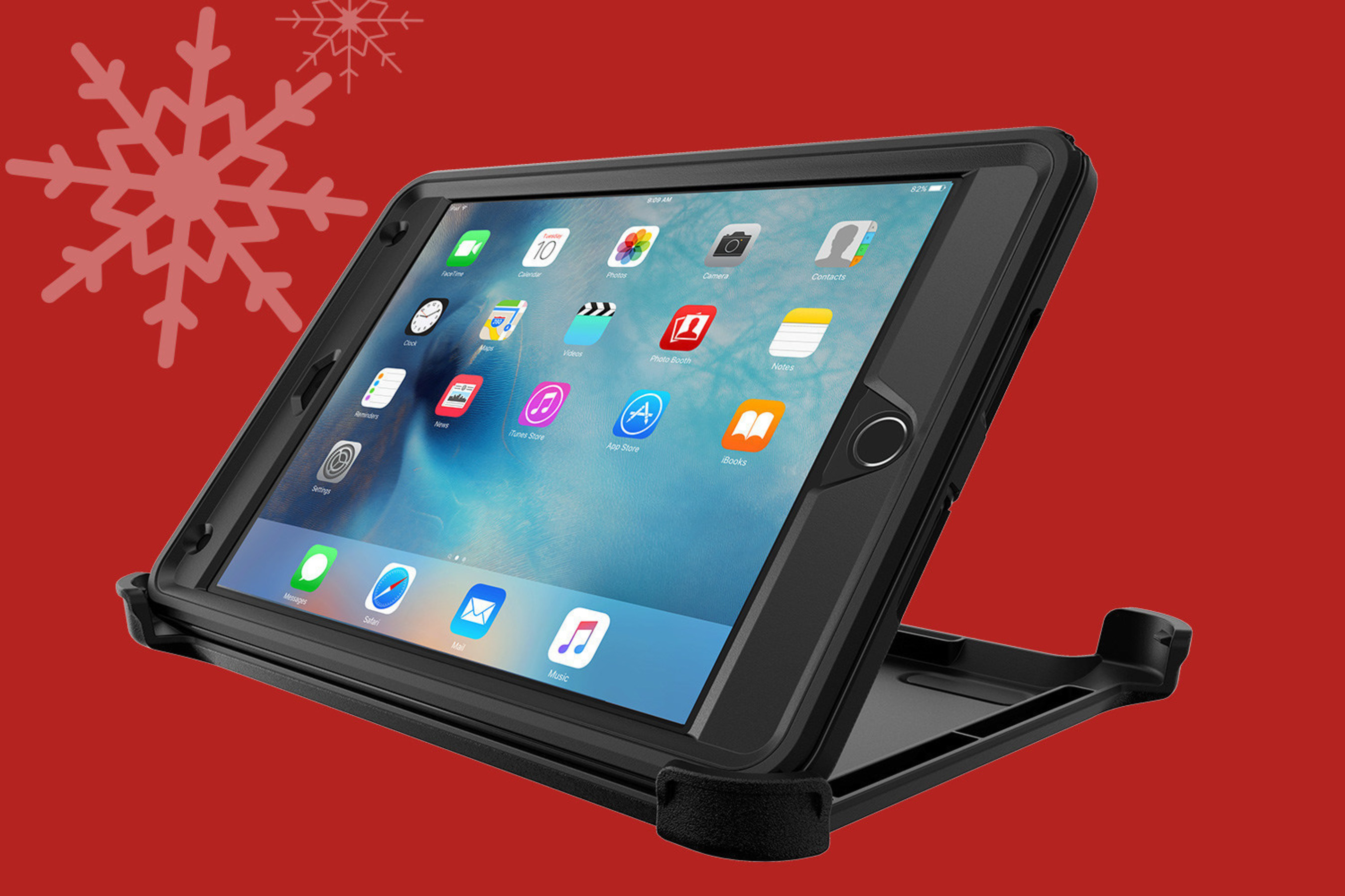 Defender Series is available for a wide variety of Apple and Samsung tablets, including the new iPad mini 4. Defender Series cases are 40% off Black Friday through Cyber Monday.
