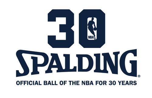 The 2013-14 season is Spalding's 30th Anniversary as the Official Game Ball of the NBA.  (PRNewsFoto/Spalding)