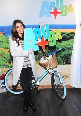 Nikki Reed Receives Trip to Aruba During Sundance (photo credit: Vivien Best)