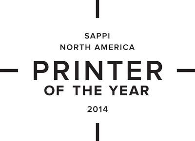 Sappi North America Printer of the Year 2014.  (PRNewsFoto/Sappi Fine Paper North America)